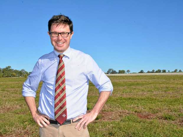 REGIONAL VOICE: Maranoa MP David Littleproud.