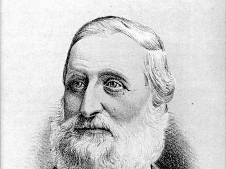 William Pettigrew, sawmiller, surveyor, shipowner, politician and diarist, ca 1885.