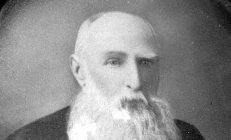 Alexander Henry Hume, pioneer of the Peachester district, ca 1910. and the first teacher at Peachester School.