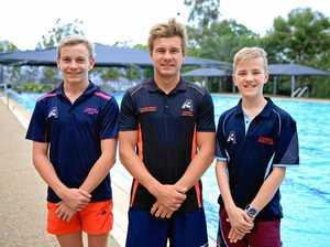 Swim trio ready to make a splash in Adelaide