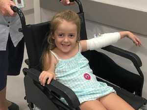 Generosity from all quarters as sick child faces a battle