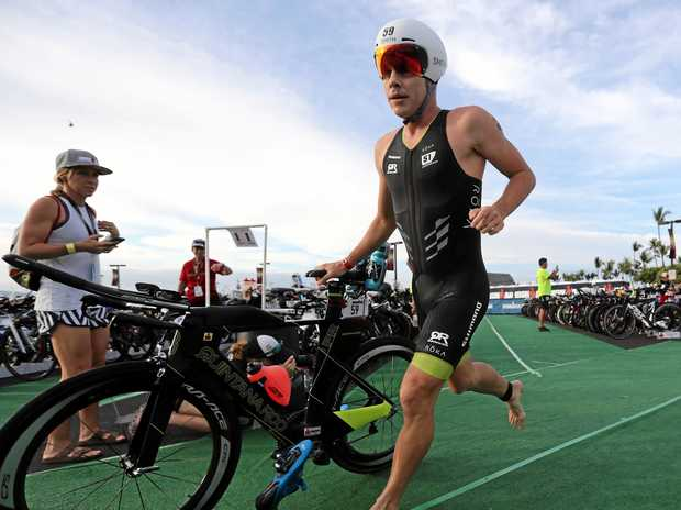 Long course triathlete Callum Millward is looking for success in WA on Sunday.