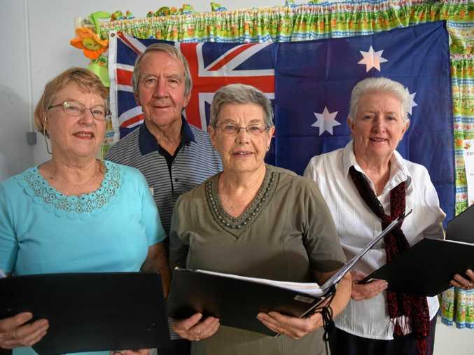 READY: Warwick Choral Society members