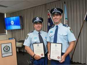 Local police receive award after saving life