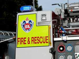 Mother and son's lucky escape from house fire