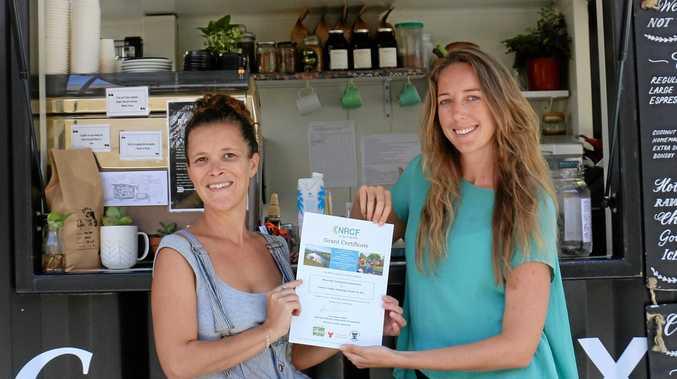 GOOD COFFEE: Coffee BOX trainer Alice Lefebvre and Program Coordinator Shanti Des Fours