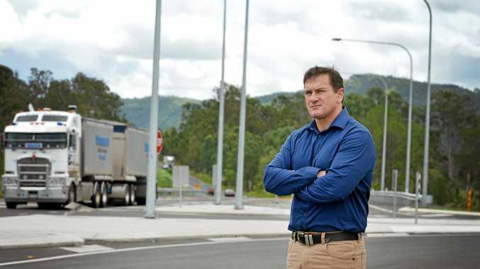 SLAMMED: Wide Bay MP Llew O'Brien slammed the NSW deputy premier on Twitter.
