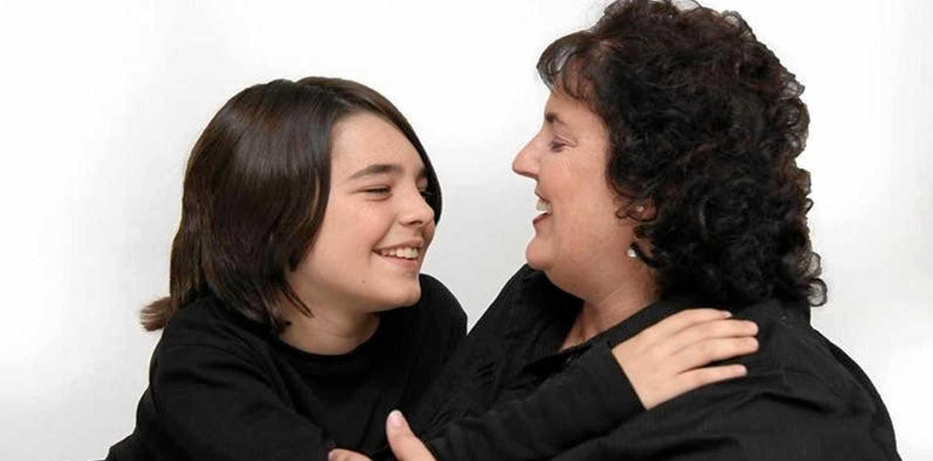 Lardeen 'Larnie' Glennon with her son Matthew 'Matty' Glennon before the tragic car crash on the Peak Downs Highway in 2011.