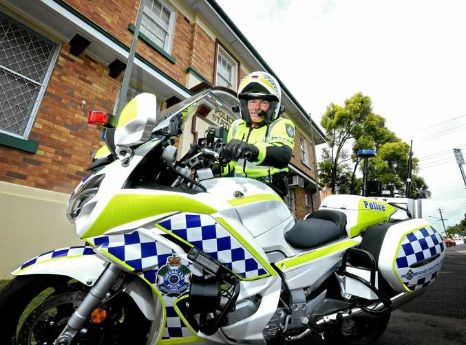 THEY'RE ABOUT: A/Sgt Chris Watson says police will be out and about these holidays.