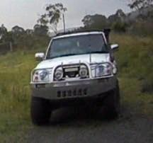 APPEAL: Police want to speak with the occupants of this ute seen in Cranley.
