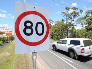 Speed limit to drop 20km/h, overtaking lane shortened