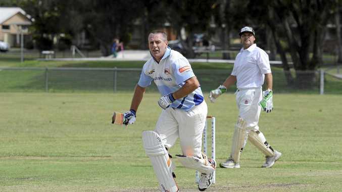 ON A ROLL: Iluka batsman David Cowen.