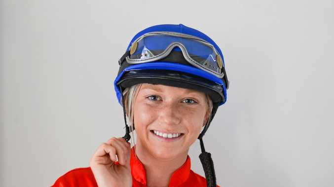 Grafton jockey in training Leah Kilner has put the miles in the saddle and is almost ready to take up her apprentice license.