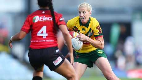 Ali Brigginshaw and the Jillaroos will contest the World Cup final.