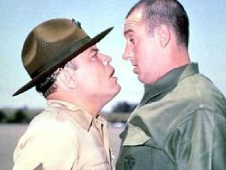 Jim Nabors in a scene from Gomer Pyle. Picture: Supplied