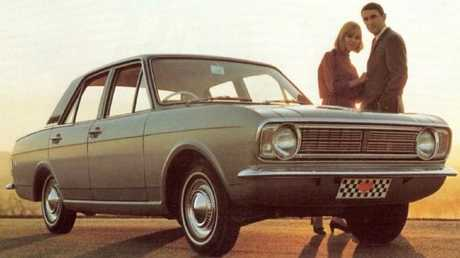 The Ford Cortina, where it all began for Clarkson. Picture: Supplied.