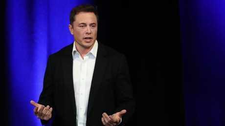 TWITTER BET: Tesla founder Elon Musk.