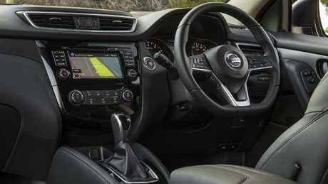 Cabin subtleties: The steering wheel has a premium feel and the plastics are superior.