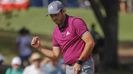 Sergio Garcia is part of an all-Spanish grouping.