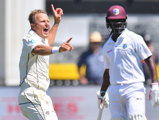 Wagner skittled the Windies with career-best figures.