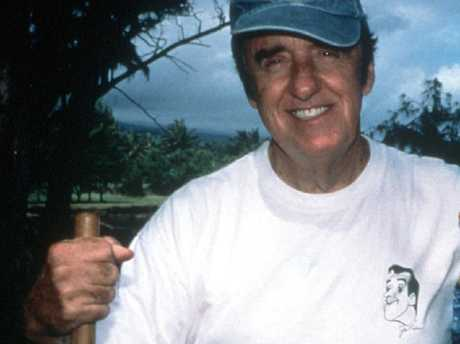 Jim Nabors appeared on the Australian TV program 'Burke's Backyard: Hawaiian Special'.