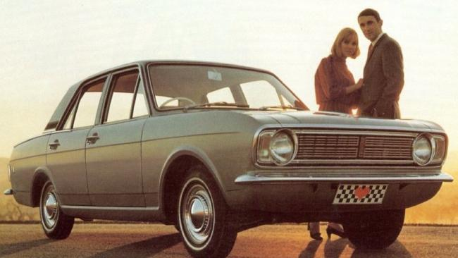 The Ford Cortina, the car that started it all for Jeremy Clarkson. Picture: Supplied.