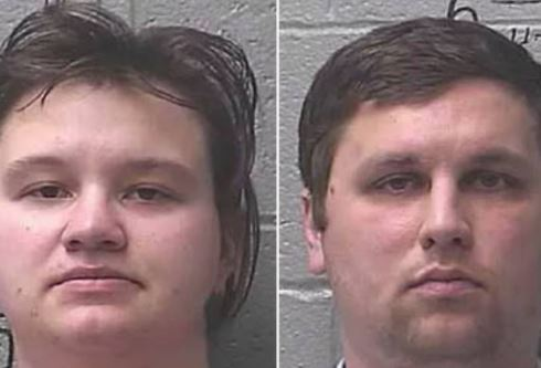 The couple first tried to blame the boy's burn on a cleaning agent.