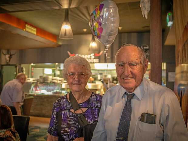 Beryl and Cliff, still strong after 70 years.