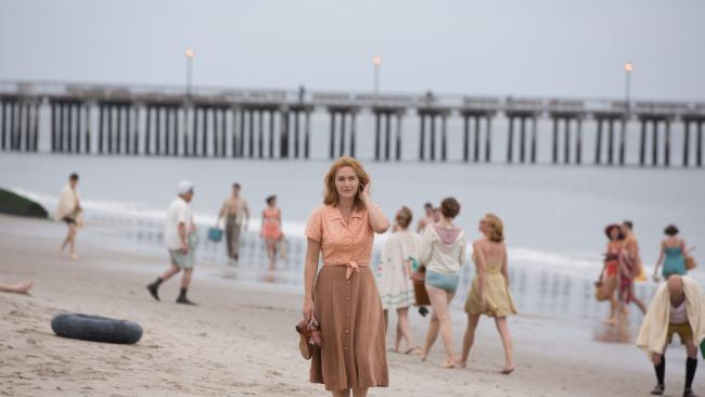 Ginny (Kate Winslet) in a scene from Wonder Wheel.