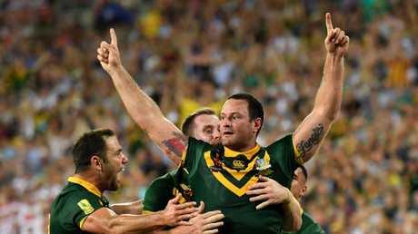 Boyd Cordner in the Australian jersey.