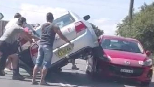 No one could understand how this crash in western Sydney could even happen.