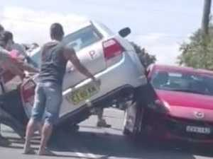 Bizarre crash: 'How do you even do that?'
