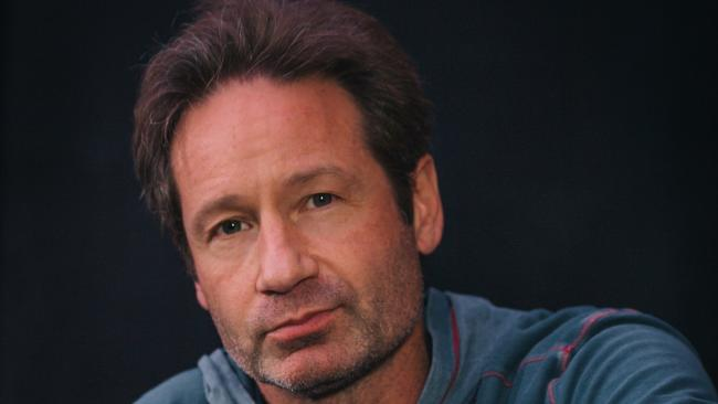 David Duchovny is the latest Hollywood star to cross over into music, but is refreshingly down-to-earth about his ambitions, saying he is not intent on making hit records. Picture: Supplied