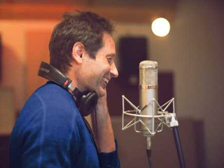 Actor David Duchovny turns his talents to singing. Picture: Supplied