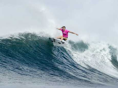Stephanie Gilmore is chasing her seventh world title. Picture: Kelly Cestari