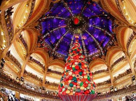 Tis the season for European delights, like Galeries Lafayette Paris. Picture: AFP