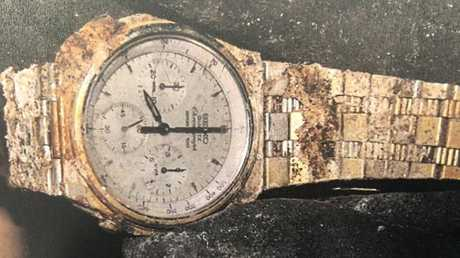 A watch found with Youngkin's skeletal remains.