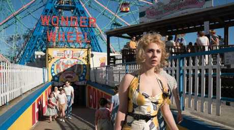 Carolina (Juno Temple) in a scene from Wonder Wheel.