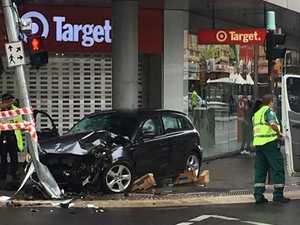 Driver arrested over CBD crash that injured four women