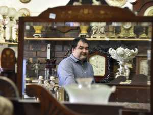 Antiques under the hammer