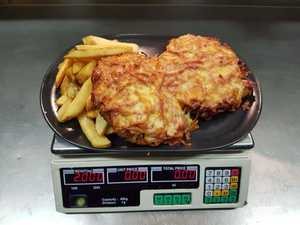 CHALLENGE: Have you tried the 2kg parmy yet?