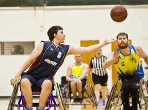 Wheelchair basketball challenge