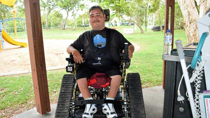 Tyson Jansen believes receiving his all-terrain wheelchair will change his life.