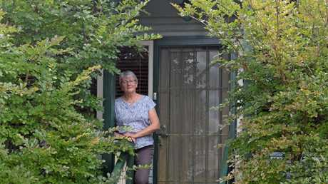 HOME STAY: Yve Stocks at Pitstop Lodge, one of her Warwick properties listed on Airbnb.