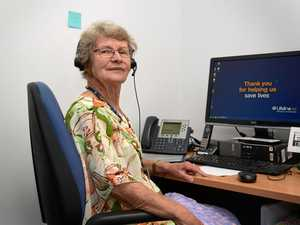 Meet the woman on the other end of the crisis support line