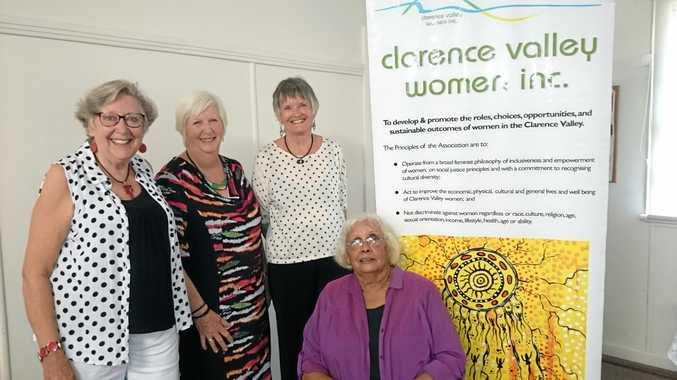CVWI Board members, Susan Howland, Vicki St Lawrence, NIcki Holmes with Robyne Bancroft (seated).