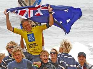 Stocca claims national junior surfing crown