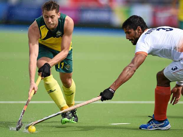 Australia's Eddie Ockenden has notched up his 300th international match for the Kookaburras.