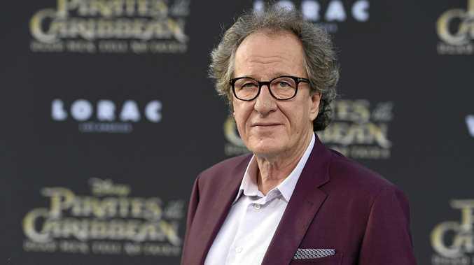 Oscar-winning actor Geoffrey Rush has vehemently denied an allegation of