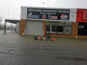 WATCH: Flash flooding inundates Rocky streets